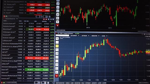 trading et investissement en bourse
